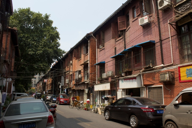 Luojiabei Residences - French built residences for the Chinese.