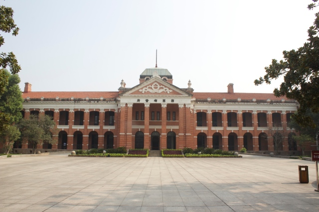 The Wuchang Uprising Museum, the former Hubei Military Offices, where the Wuchang Uprising began.