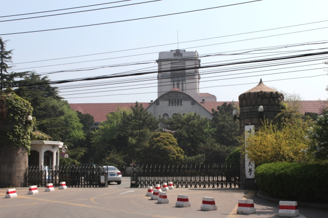 Tsingtao (Japanese) Middle School (1920) - does not sit in the New City but in the old, coastline-hugging German town.