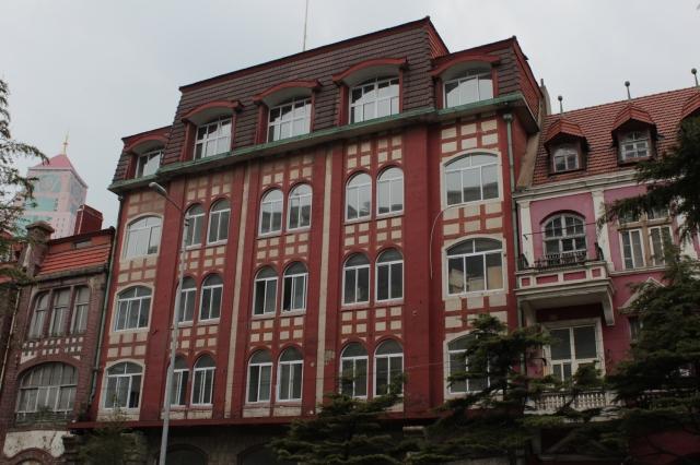 Qingdao Light Industry, on Prinz Heinrich Street.