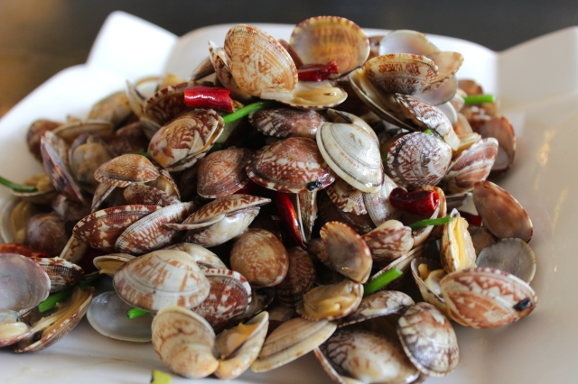 Qingdao is known for its amazing seafood, which all goes very well with Tsingtao Beer.