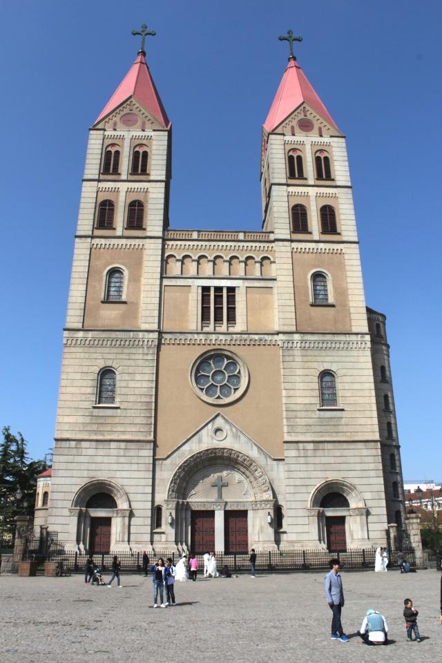 St Michael's Church itself.