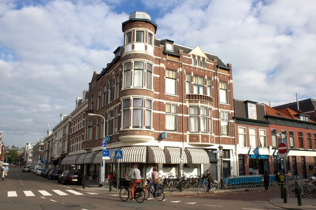 "Arciphelbuurt is a district in the Hague in which many returning Dutch Indonesians chose to stay.  The streets of this district are named after islands in the Indonesian archipelago (therefore ""archipel"") and  other Dutch colonial territories.  This is the view of a 19th century residential building on Sumatrastraat."