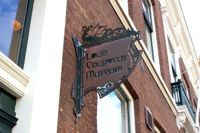 The Louis Couperus Museum in Archipelbuurt.  Louis Couperus was one of the most important auteurs in Dutch Colonial Literature (as well as Dutch literature in general).  He was  born in The Hague, and spent part of his early years in the Dutch East Indies (specifically Batavia) before returning as a young adult to the Netherlands.  He is famous for his novel De Stille Kracht (The Hidden Force) which is of a Dutch colonial family falling apart due to supernatural forces.