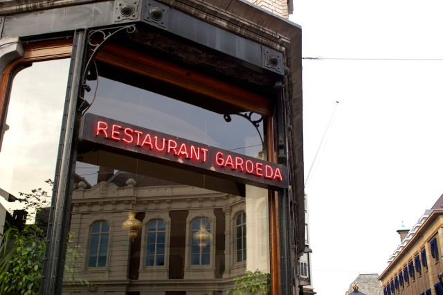Finally, Restaurant Garoeda is one of the oldest and most established Indische Restaurants in The Hague, established in the 1940s by a returning Dutch Indonesian.  It is known for its rijstaeffel - those amazing multi-course set dinners of regional Indonesian dishes accompanied with rice.  I had dinner there and found the rijstaeffel delicious.
