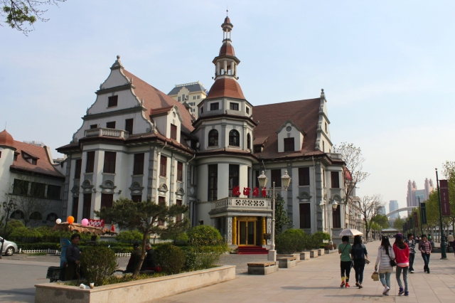 The highlight of the concession is this Austrian-style house which was once the residence of General Yuan Shikai.