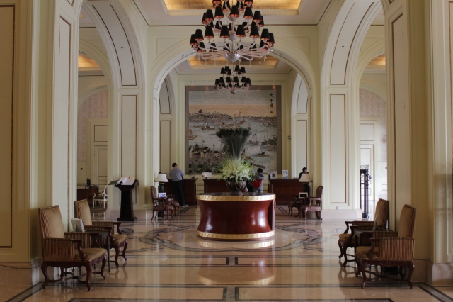 The Hotel's actual Main Reception and Lobby sits in its Riverside Wing.