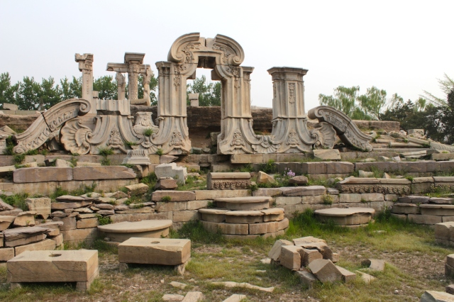 Ruins of the Yuanying Guan 远瀛观.