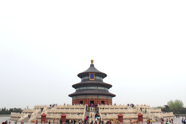 The Temple of Heaven dates from the 1400s.