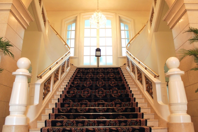 The Grand Stairway.