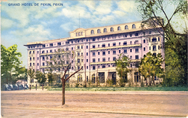 The hotel in the 1920s.