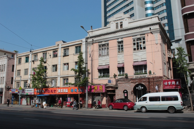 More Japanese-era commercial buildings.