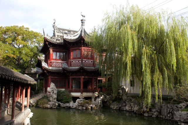 The Pavilion of Listening to Billows 聽濤閣。