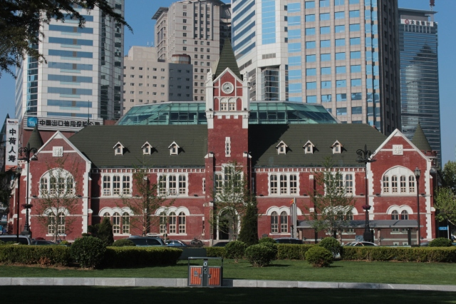 No. 2 - The former Dalian Police Station 大連民政署, built in 1908。