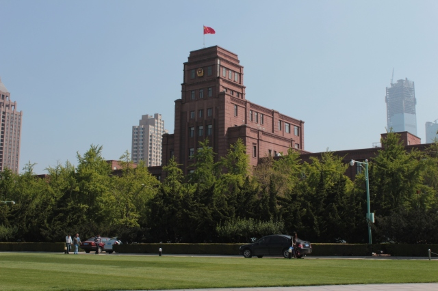 Today's Police Headquarters on People's Square was built by the Japanese too, in the 1930s.