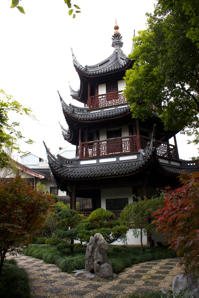 Kui Xing Pavilion - Pavilion dedicated to Kui Xing 魁星, the Deity of Literature.