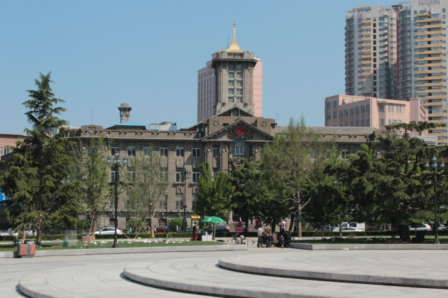 Dairen City Hall, on Nicholas Square is an iconic piece of Japanese architecture in the city.