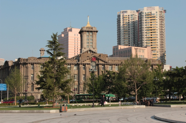 No. 5 - the former Dalian City Hall 大 連 市 役 所, was built in 1919.
