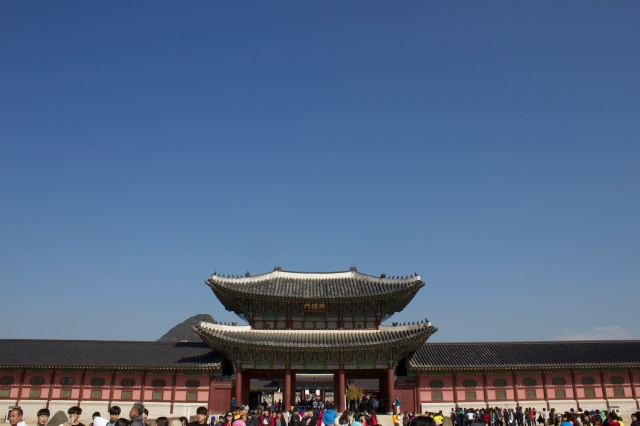 The Gyeongbukgong Palace  景福宮 Complex is the largest palace complex in Seoul and was built by the Joseon Emperors.