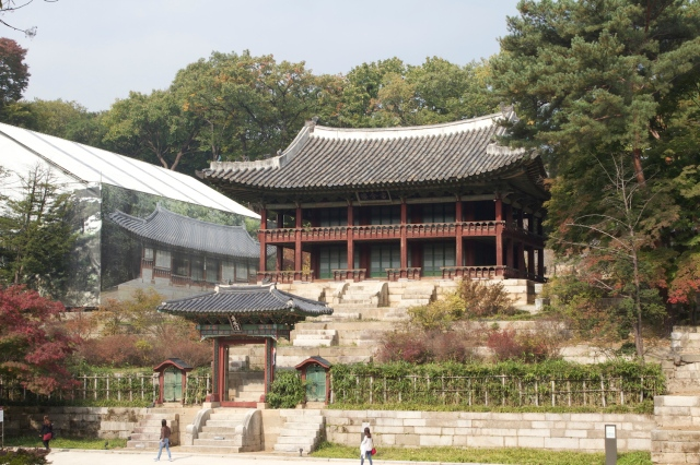 Pavilion, in the Biwon, or Secret Garden.