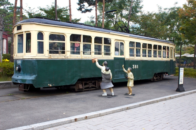Streetcar from the Keijo era.