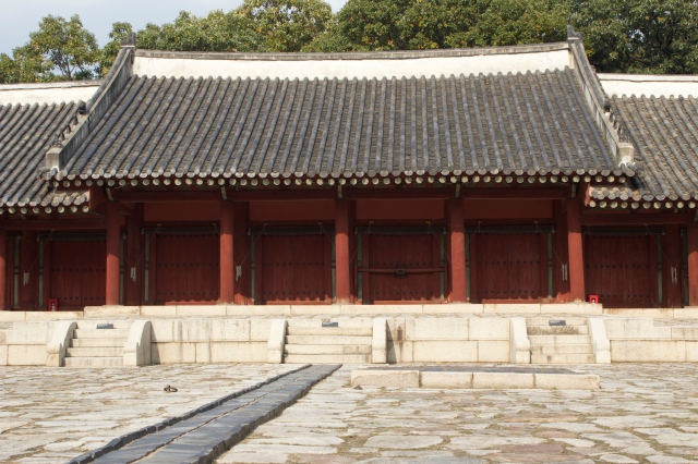 The secondary shrine.