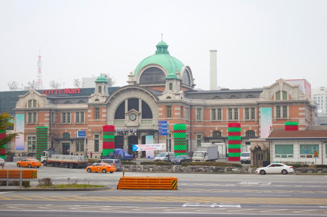 Seoul Central Train Station, built in 1925 is a classic example of Meiji Imperial Architecture.