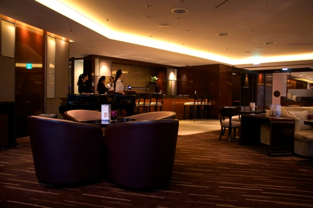 The Circle Bar - the hotel's main bar.