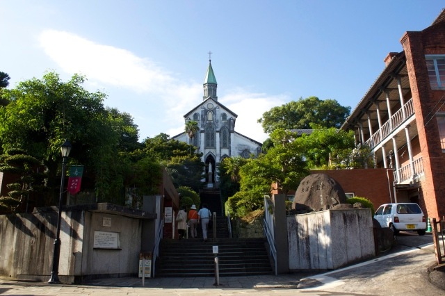 Oura Church, built in 1864, is a National Treasure and is a major landmark in the Oura Foreign Settlement.