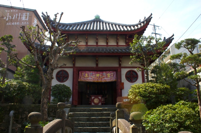 The main temple of the Earth God Shrine.