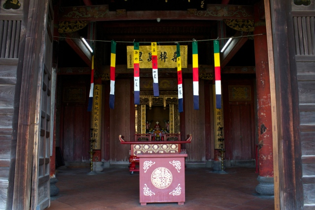The main temple of the Hokkien Huay Kuan