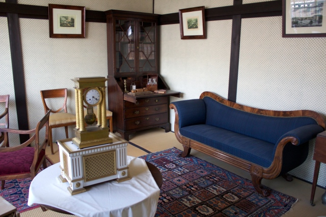 Reconstructed interior: living room.