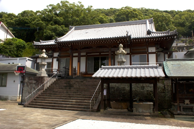 The temple of Enmei-ji.