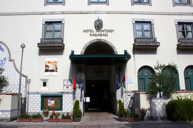 Hotel Monterey is a contemporary Japanese hotel chain that draws from Nagasaki's ancient Portuguese heritage.