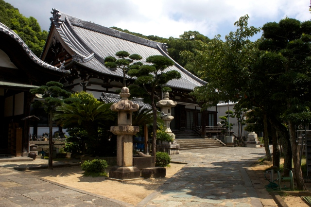 The Daiko-ji grounds.