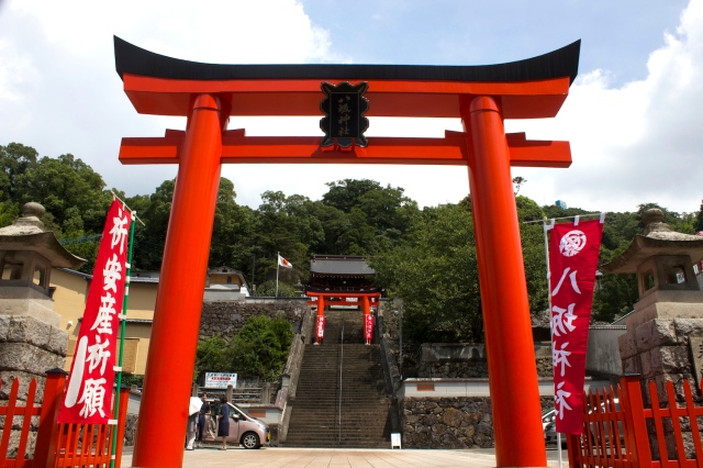 The stunning Yasaka Shrine 八坂神社