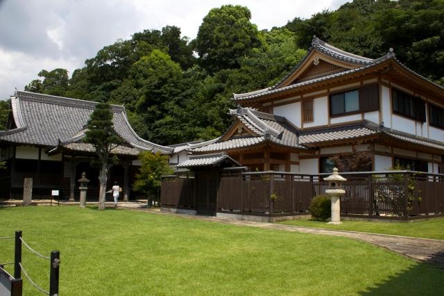 The Kiyomizudera grounds.