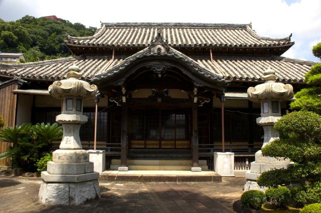The Shofuku-ji temple proper.