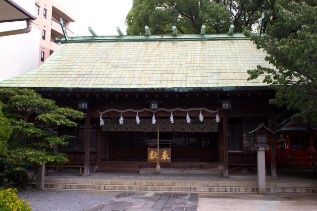 The Shrine proper.