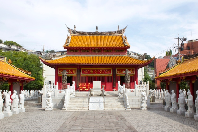 The main temple of the Confucius Temple.