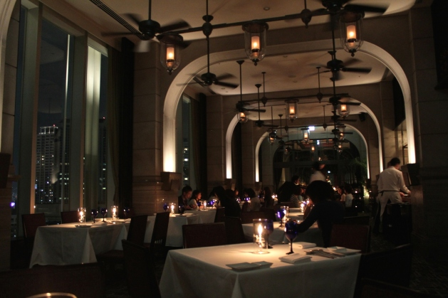 The restaurant transforms into a Bistro at night and is one of the best places to dine at in the city.
