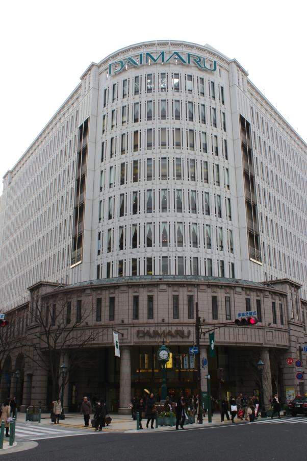 Daimaru - one of Japan's oldest departmental stores.