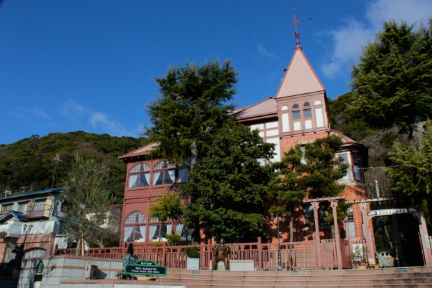 The Weathercock Mansion is the most famous ijinkan in Kitano, built for a German merchant thomas Weathercock, in 1909.