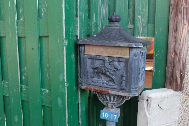 A period postbox.