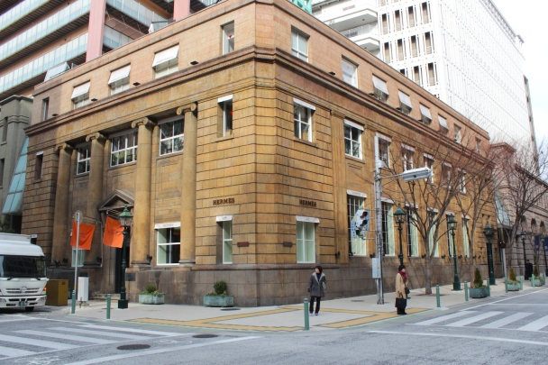 The Foreign Settlement No. 38 Building is owned by Daimaru, just behind it.