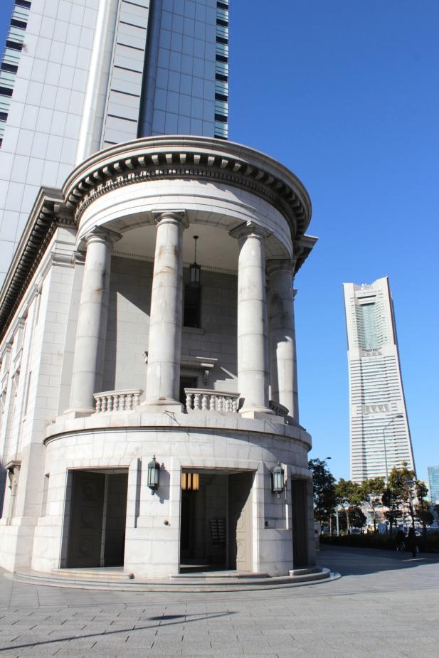 Former Dai-ichi Bank 第一銀行Yokohama Branch (1929).