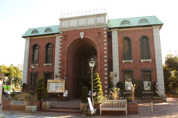 The Iwasaki Museum is part of the former Gaiety Theatre site built in 1885 by a French architect.