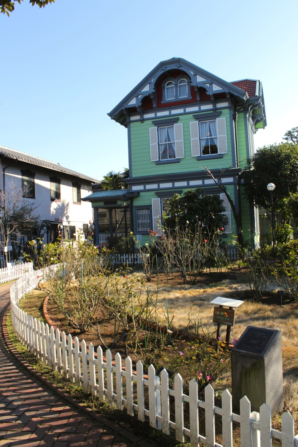 The Yamate Museum was a private residence built in 1909, making it the only Western-style residence from the Treaty Port era that survives today.