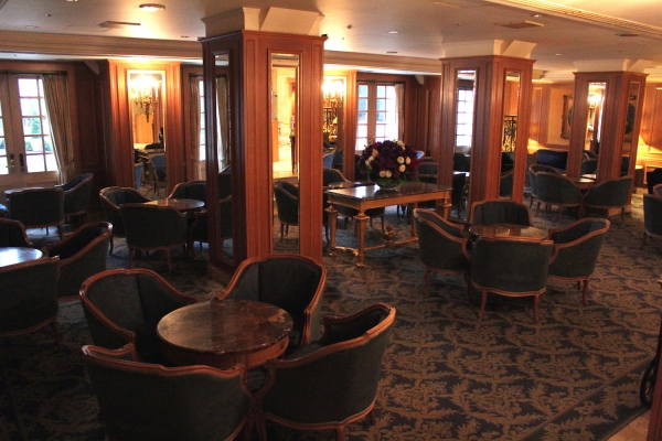 The Hotel's Cafe.