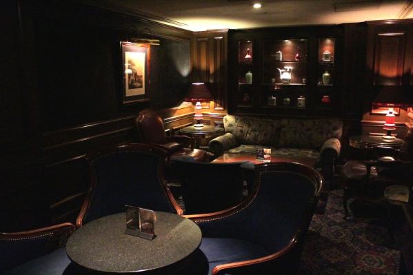 The Hotel's Bar, the Sea Guardian II.